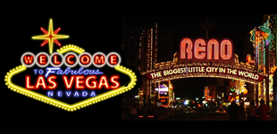 Charter a bus to Las Vegas or Reno!